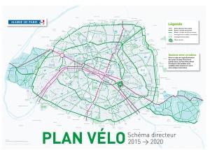 El Plan Velo de Paris aumentará las zonas ciclables de la ciudad parisina